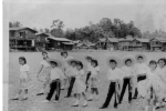 P605 - St. Margaret Mary School   Grade 4 students dancing ' La